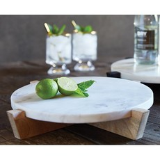 Marble Tray With Stand