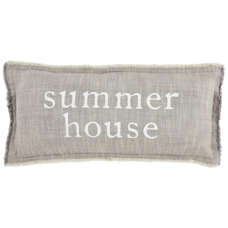 Summer House Pillow