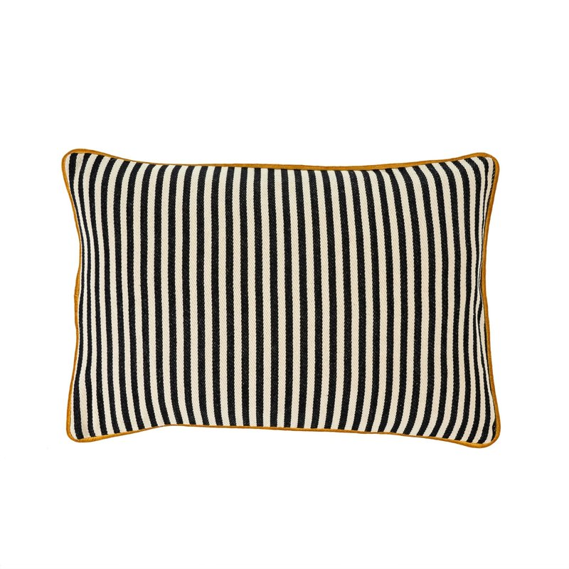 Bungalow Striped Pillow