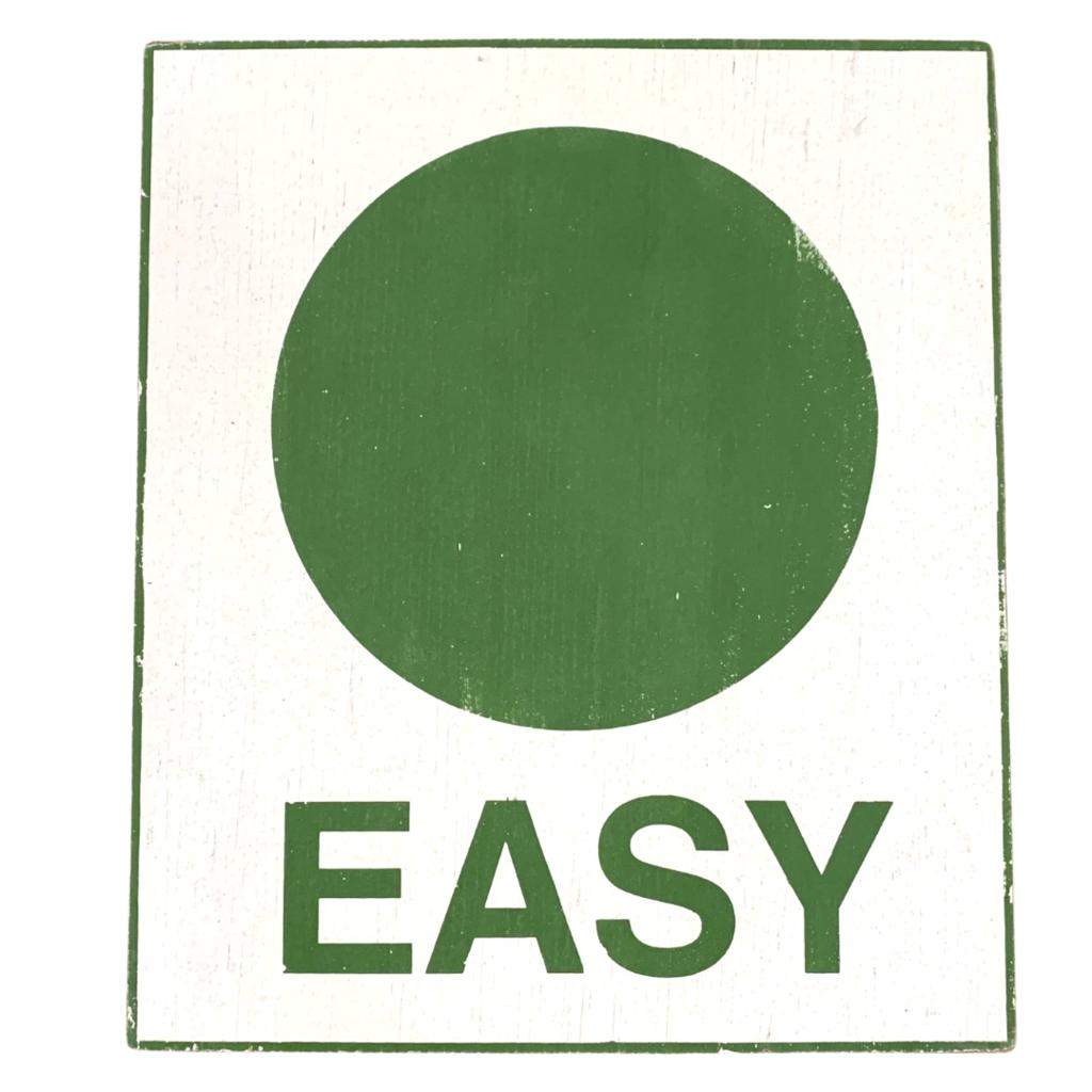 Easy Wood Ski Sign