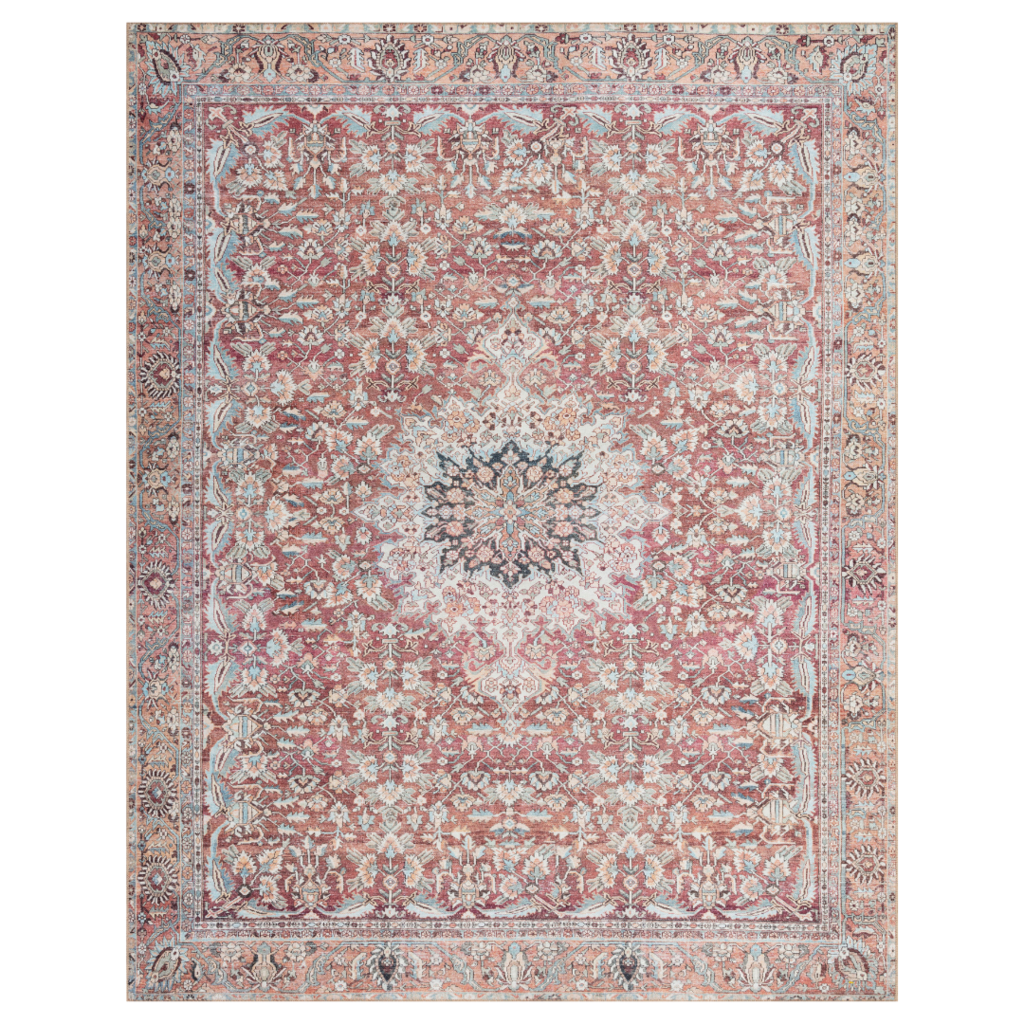 Tomato & Teal Wynter Rug