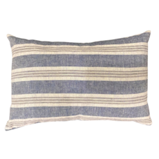 Striped Organic Pillow