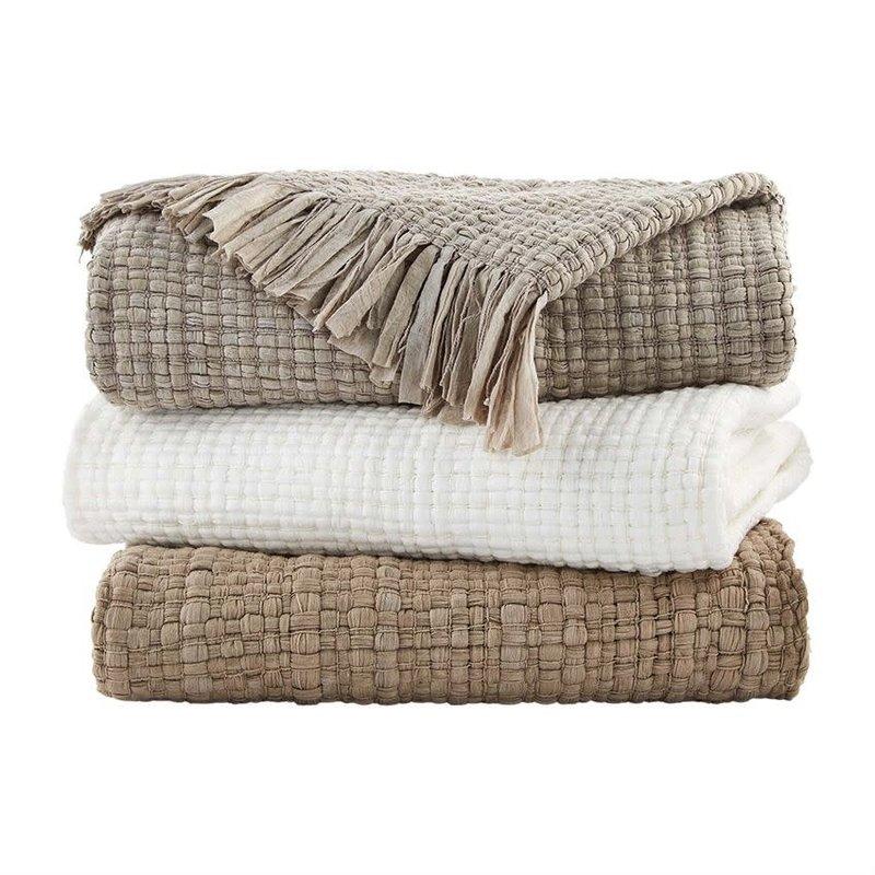 Fringe Throw Blankets