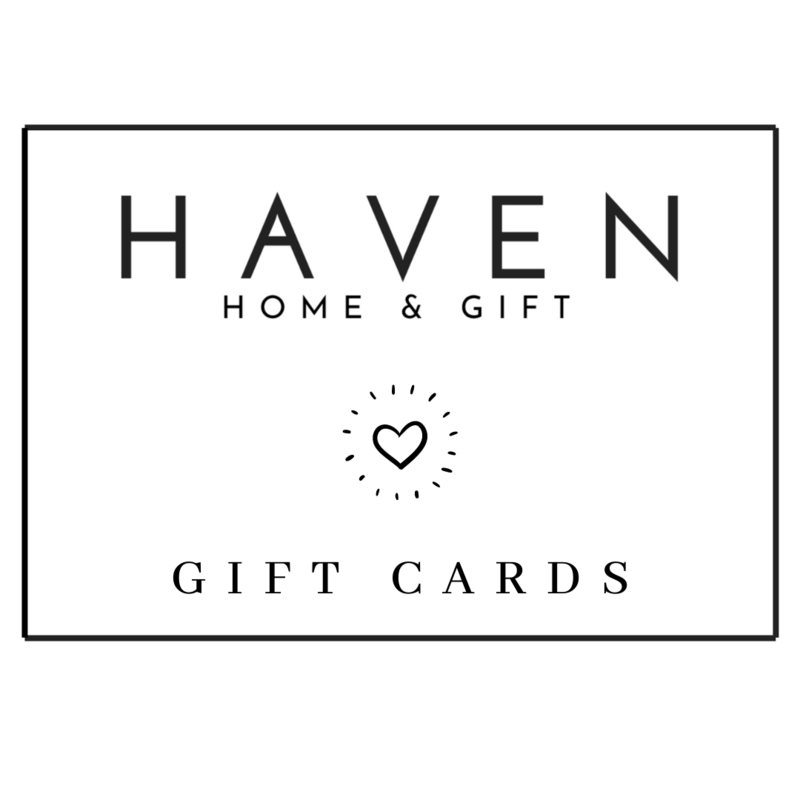 HAVEN Gift Cards