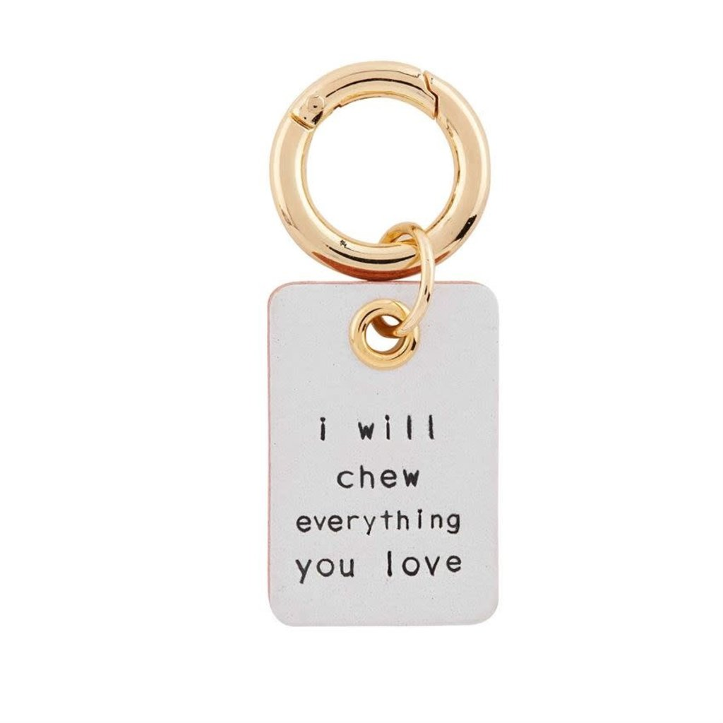 Chew Everything You Love Collar Charm