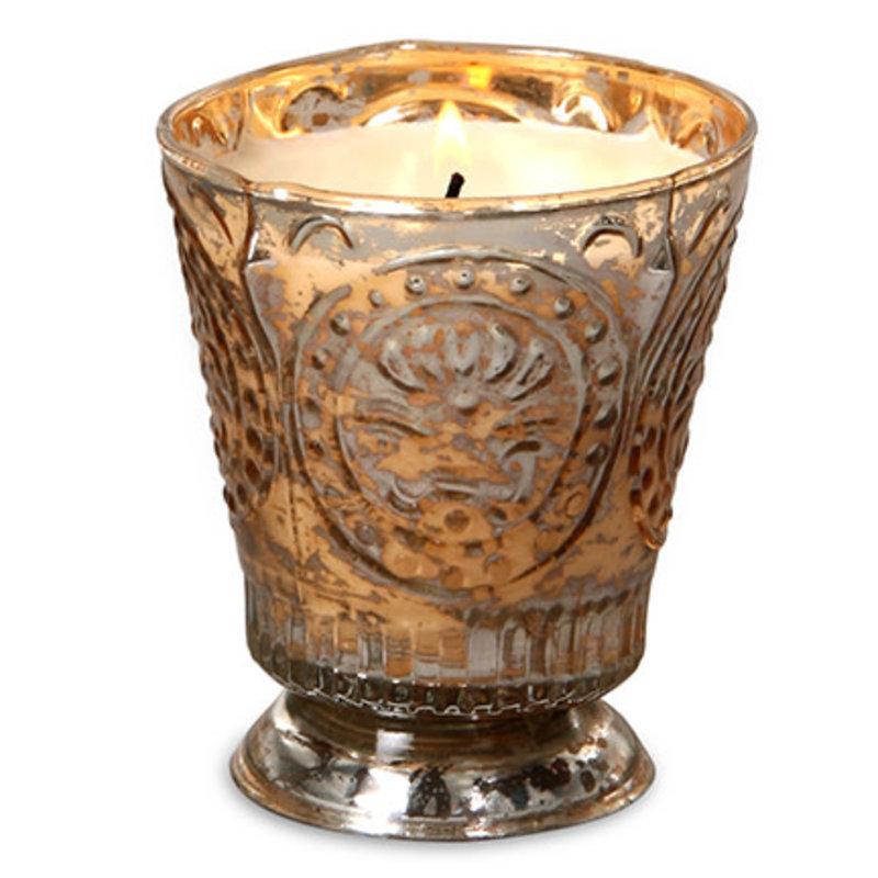 Champagne Fleur De Lys Candle
