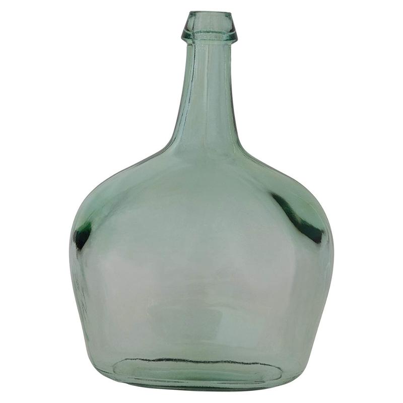 Recycled Glass Bottle Vase