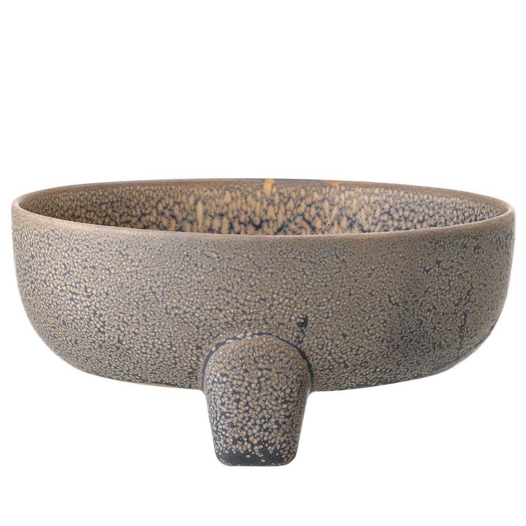 Reactive Stoneware Soap Dish