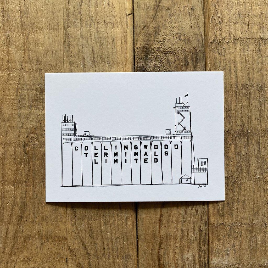 Postcard - Collingwood Terminals