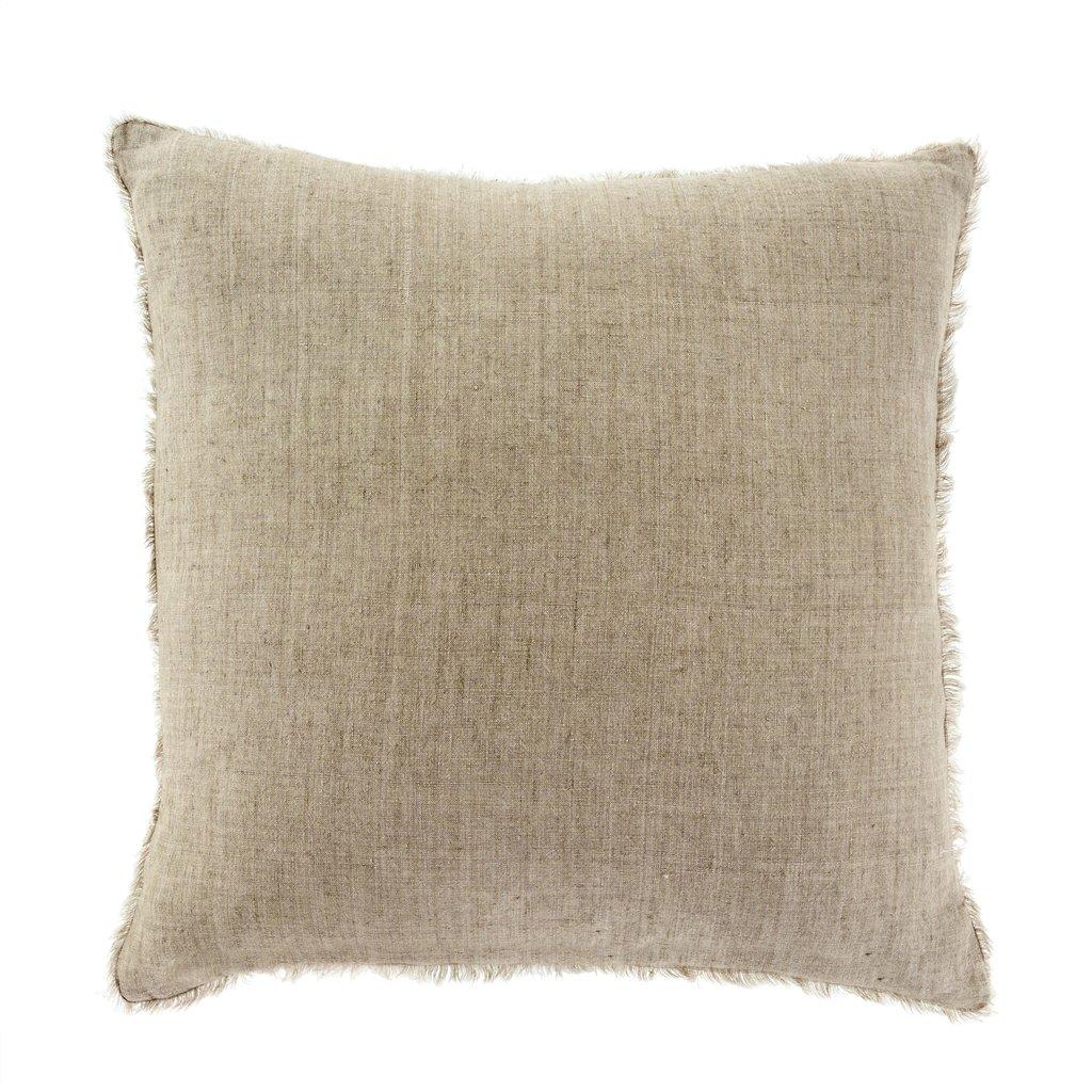 Sand Lina Linen Pillow