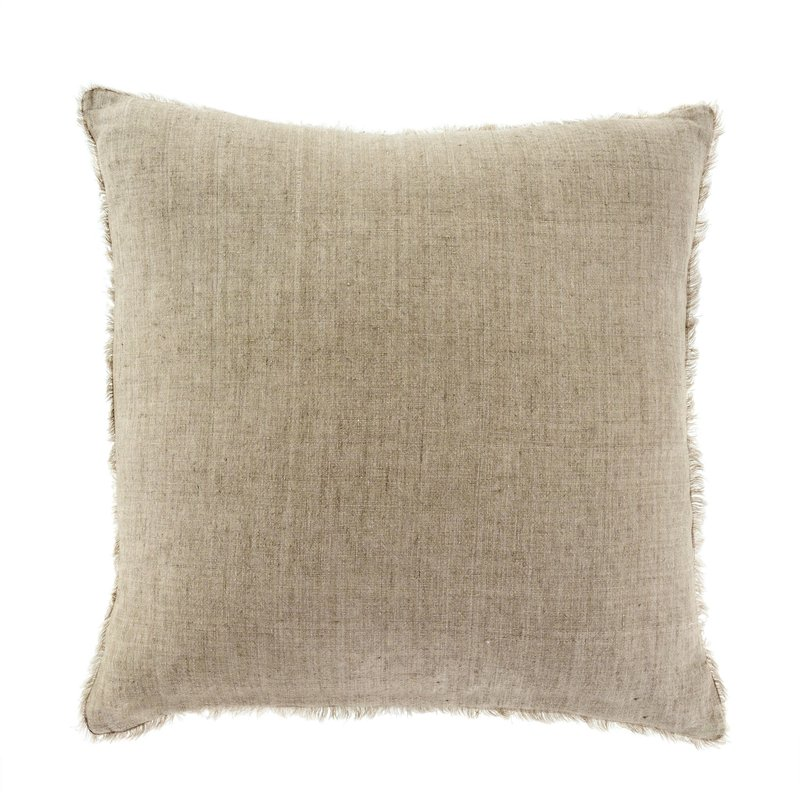 Sand Lina Linen Pillow