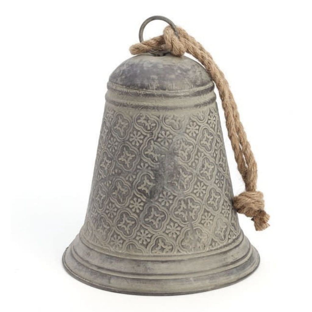 Iron Bell with Jute
