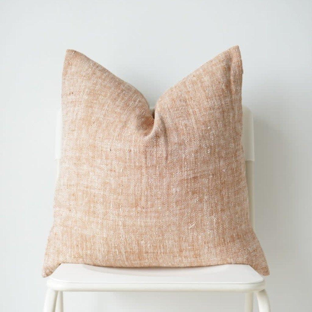 Sienna Handwoven Natural Pillow