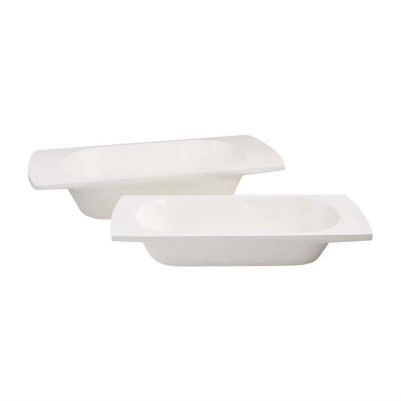 Whitewash Dough Bowls