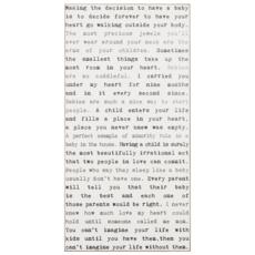 Baby Typewriter Sign