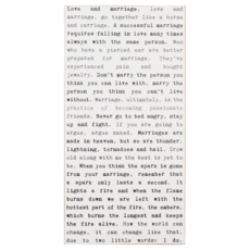 Love & Marriage Typewriter Sign