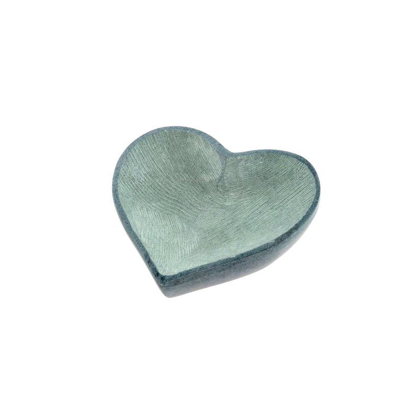 Small Soapstone Heart Dish
