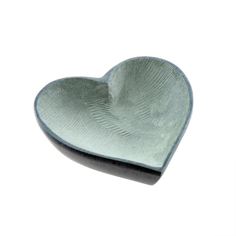 Large Soapstone Heart Dish