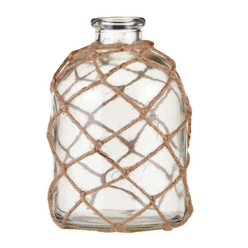 Glass Vase with Twine