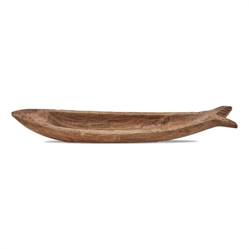 Small Malibu Wood Fish Tray