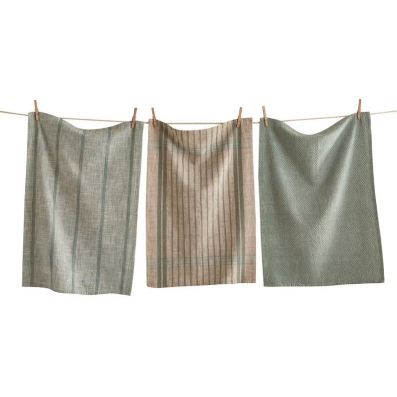 Set of 3 Woven Tea Towels