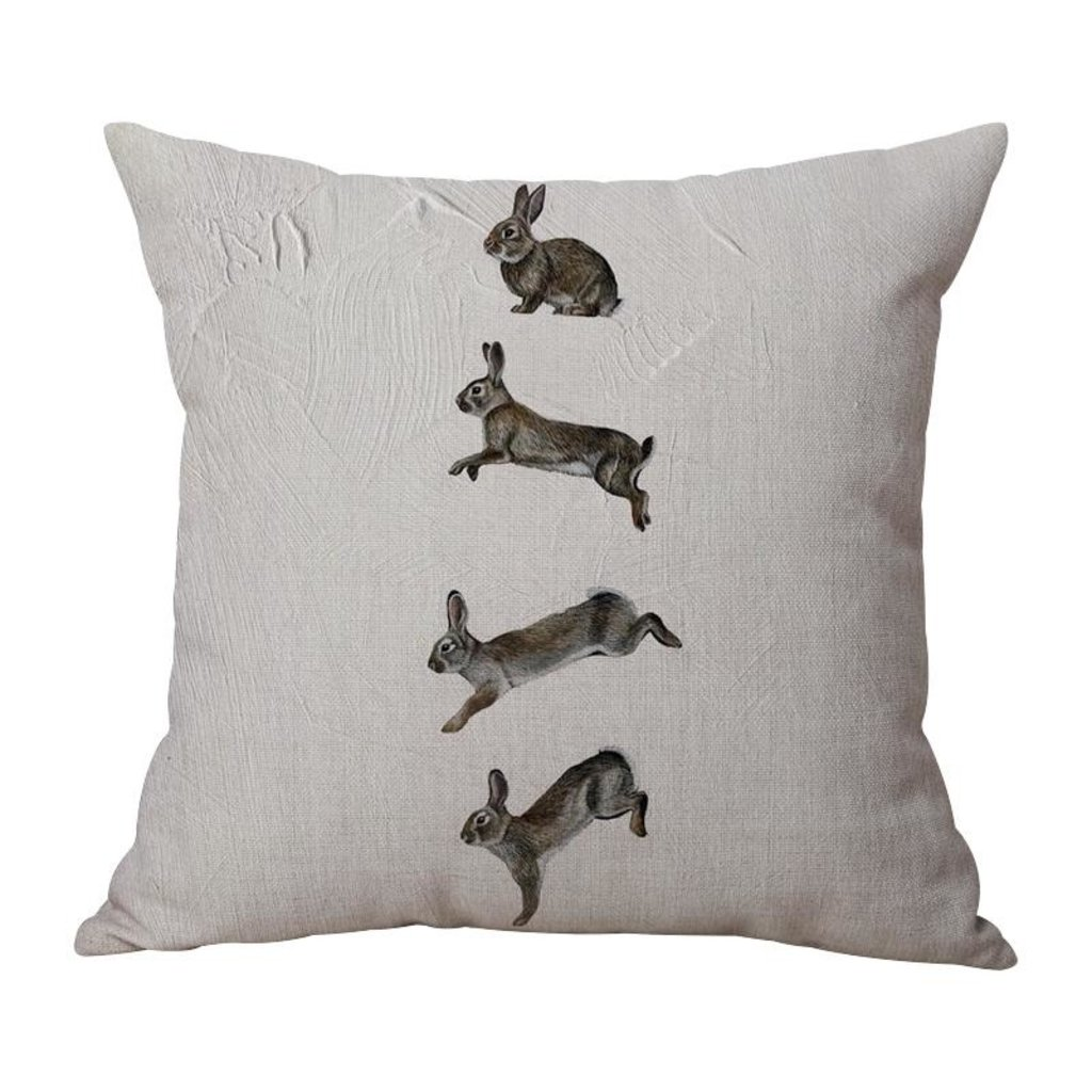 Bunnies Indoor/Outdoor Pillow