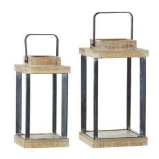 Wood & Iron Lanterns