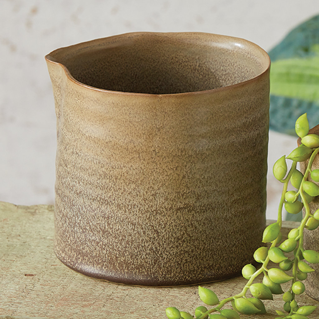 Large Organic Rim Pot