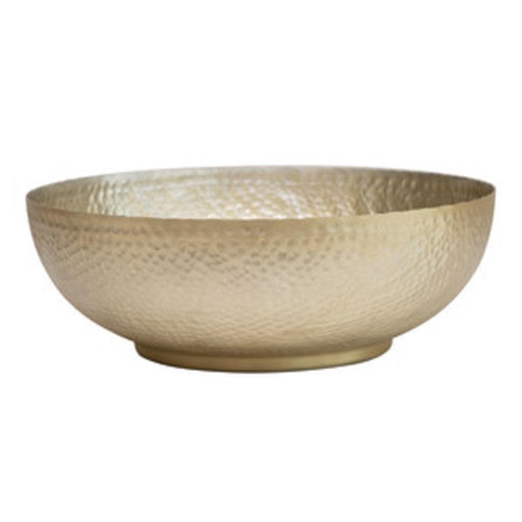 Hammered Aluminum Bowl