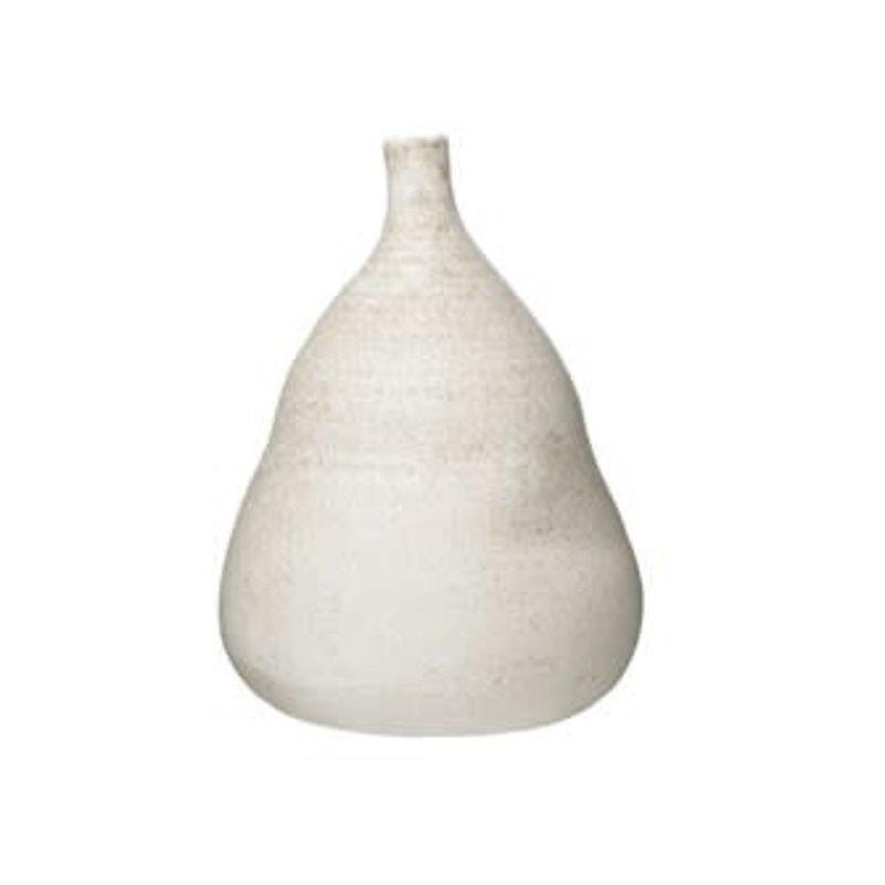 "14"" Distressed Terracotta Vase"