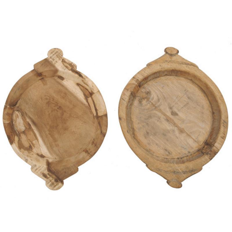 Handcarved Wood Bowls
