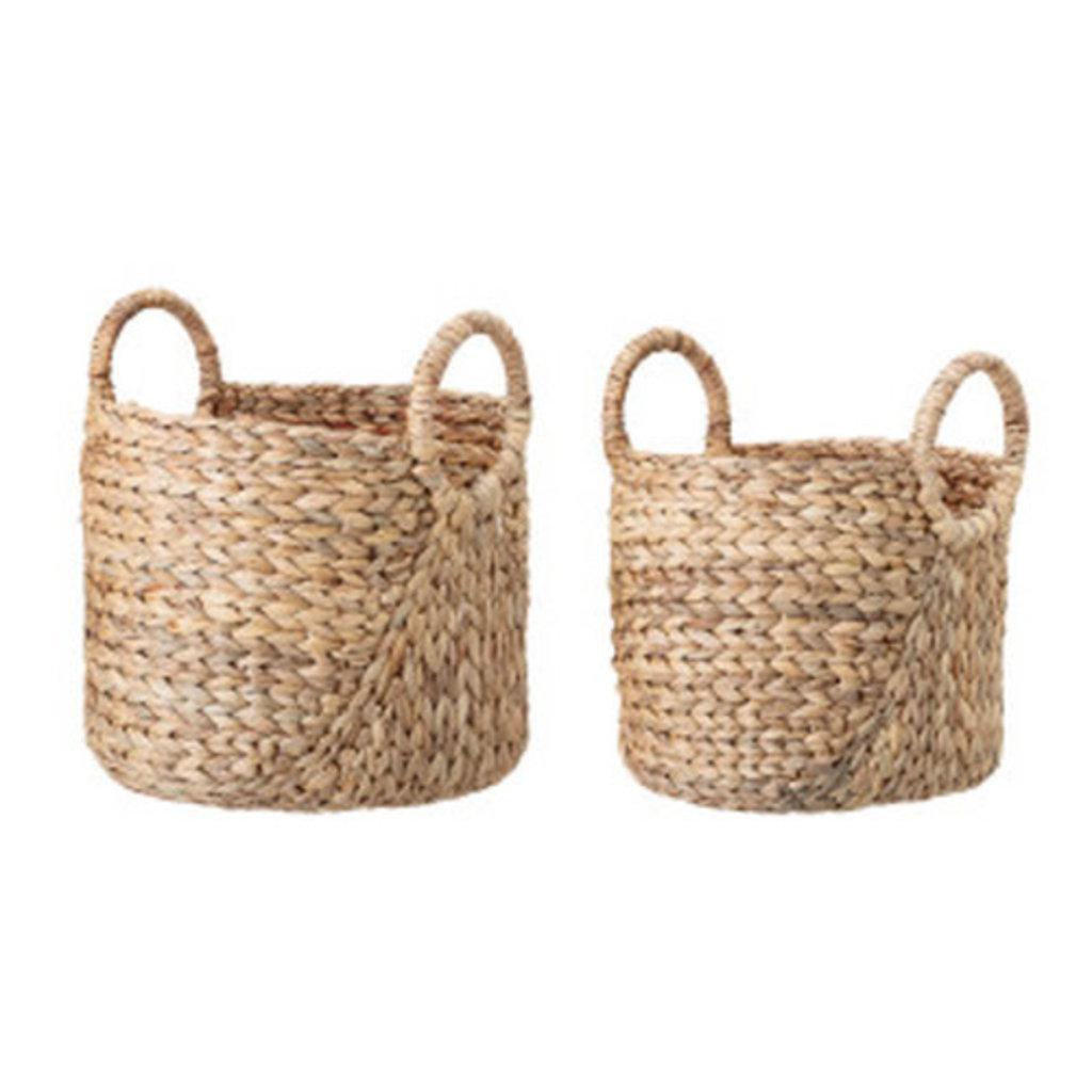 Round Handle Seagrass Baskets