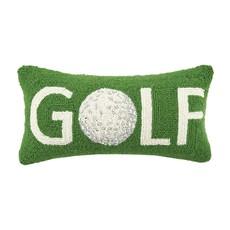 Golf Ball Hooked Pillow