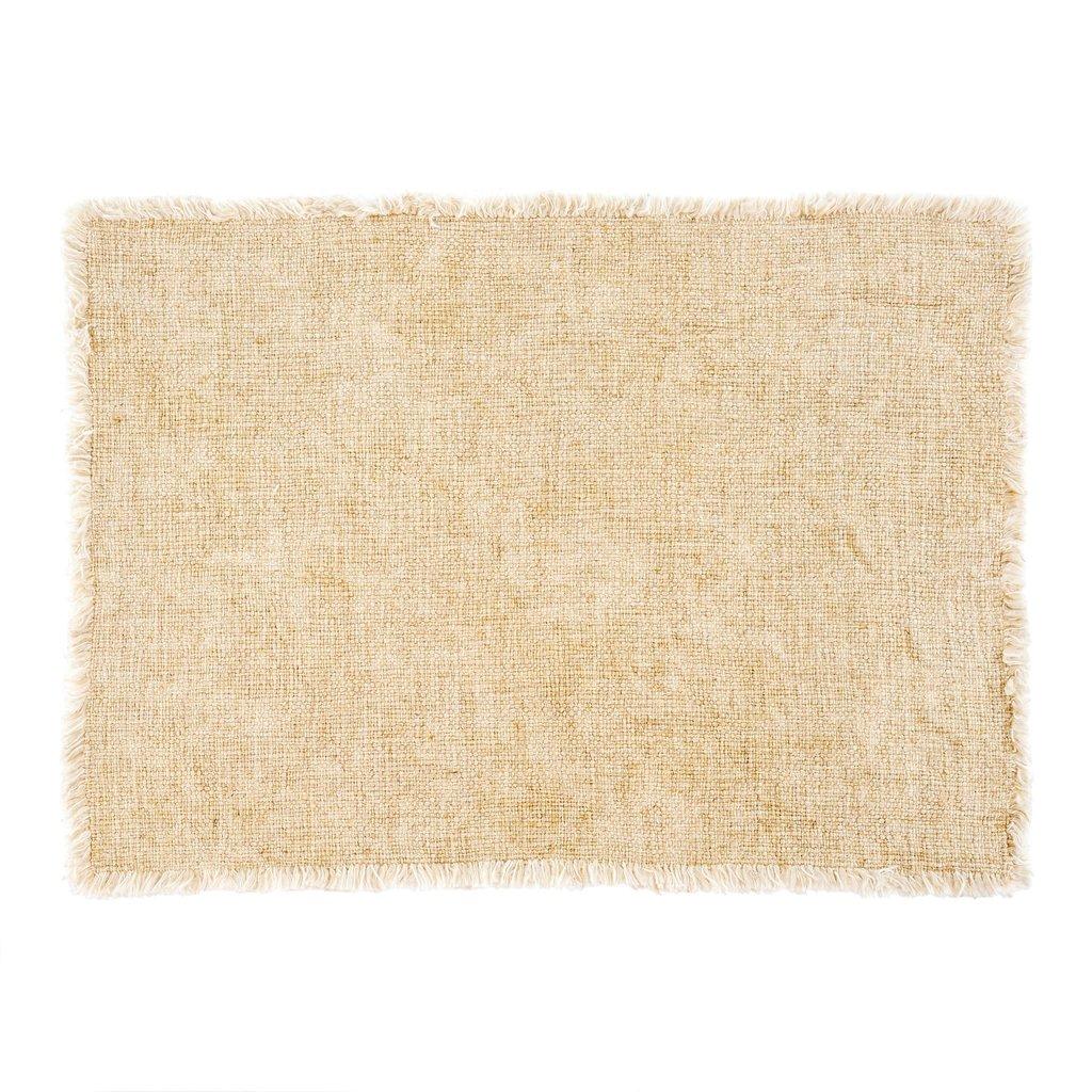 Natural Selena Linen Placemat