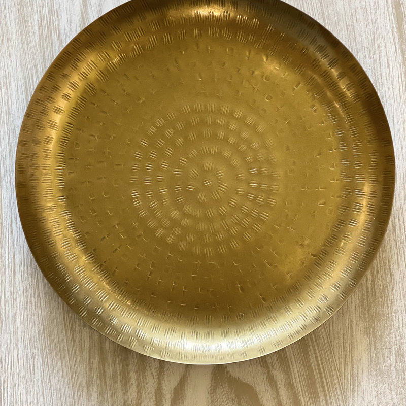Hammered Gold Tray - Small