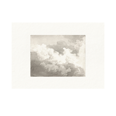 Framed Bordered Cloud Study