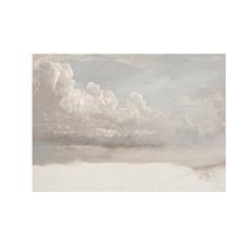 Framed Cloud Study Print