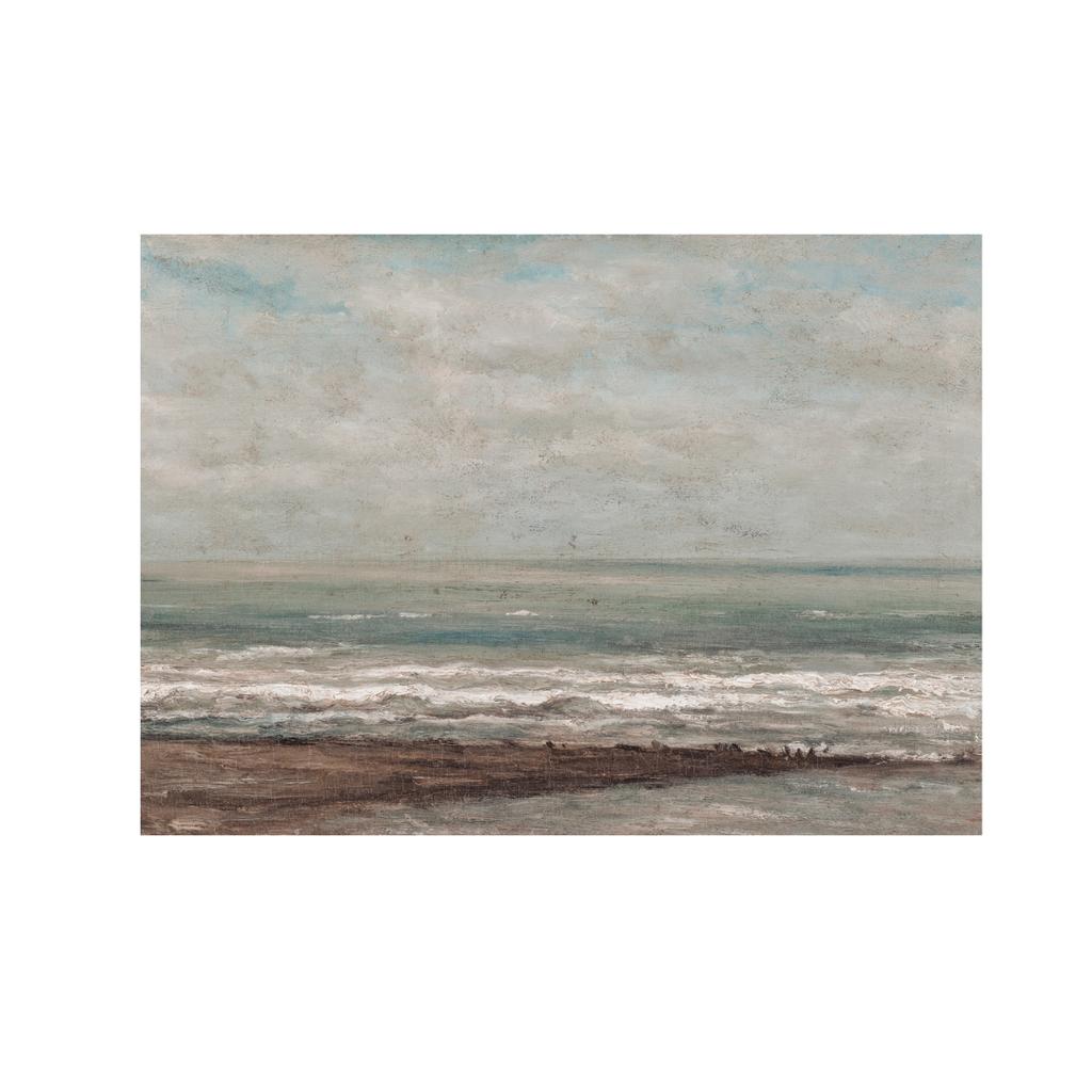 Framed Moody Seascape Print