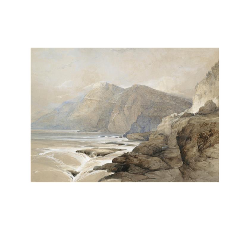 Framed Mountainscape Print
