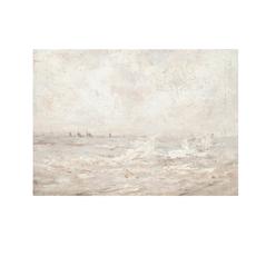 Framed Rough Sea Print