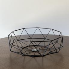 Diamond Deco Metal Bowl