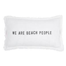 Beach People Lumbar Pillow