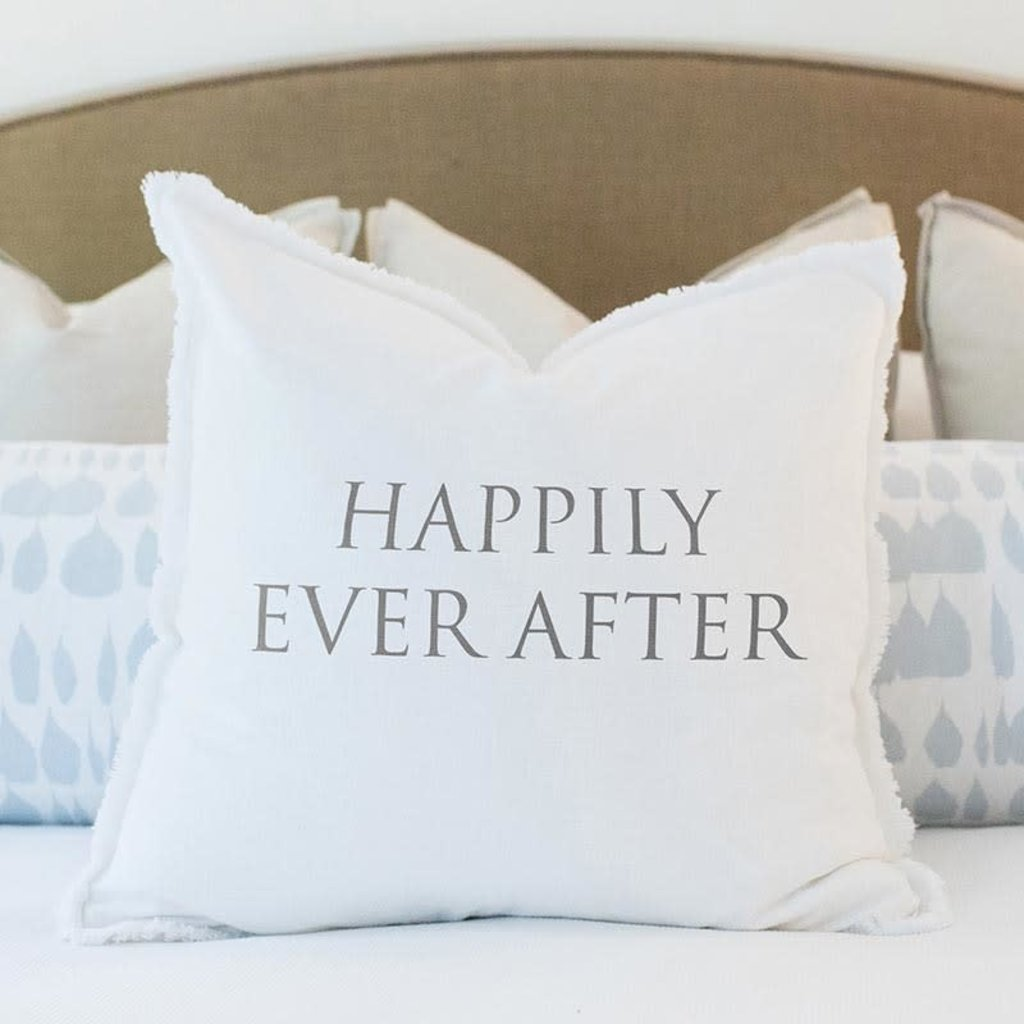 Happily Ever Euro Pillow