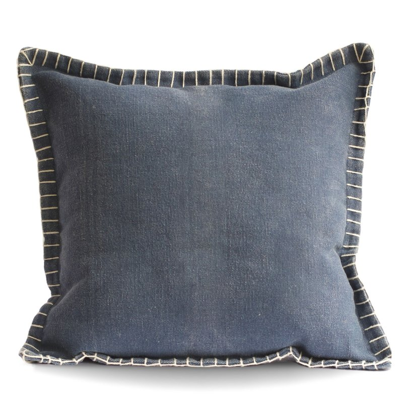 Blue Stone Washed Pillow