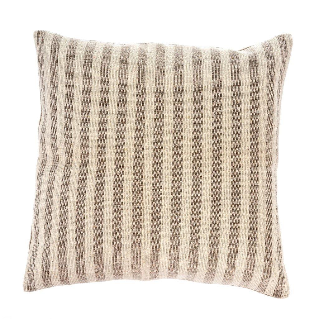 Sand Ingram Striped Pillow