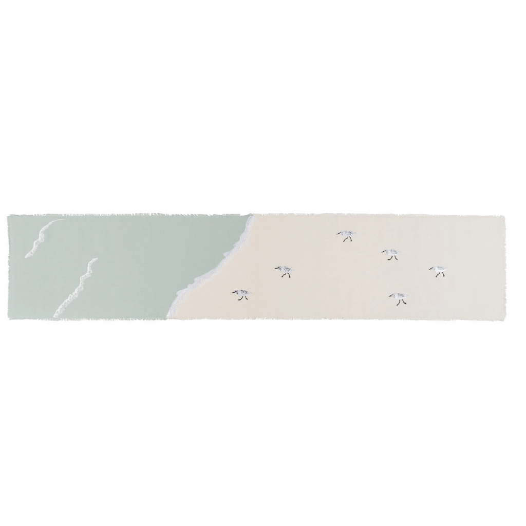 Sandpipers Sprint Table Runner