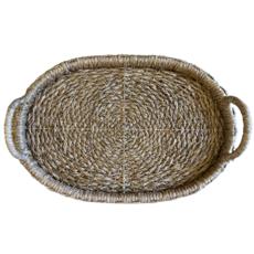 Oval Rattan Trays