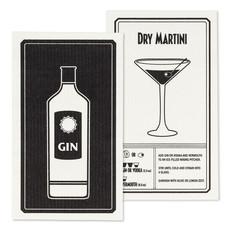 Gin & Martini Dishcloth