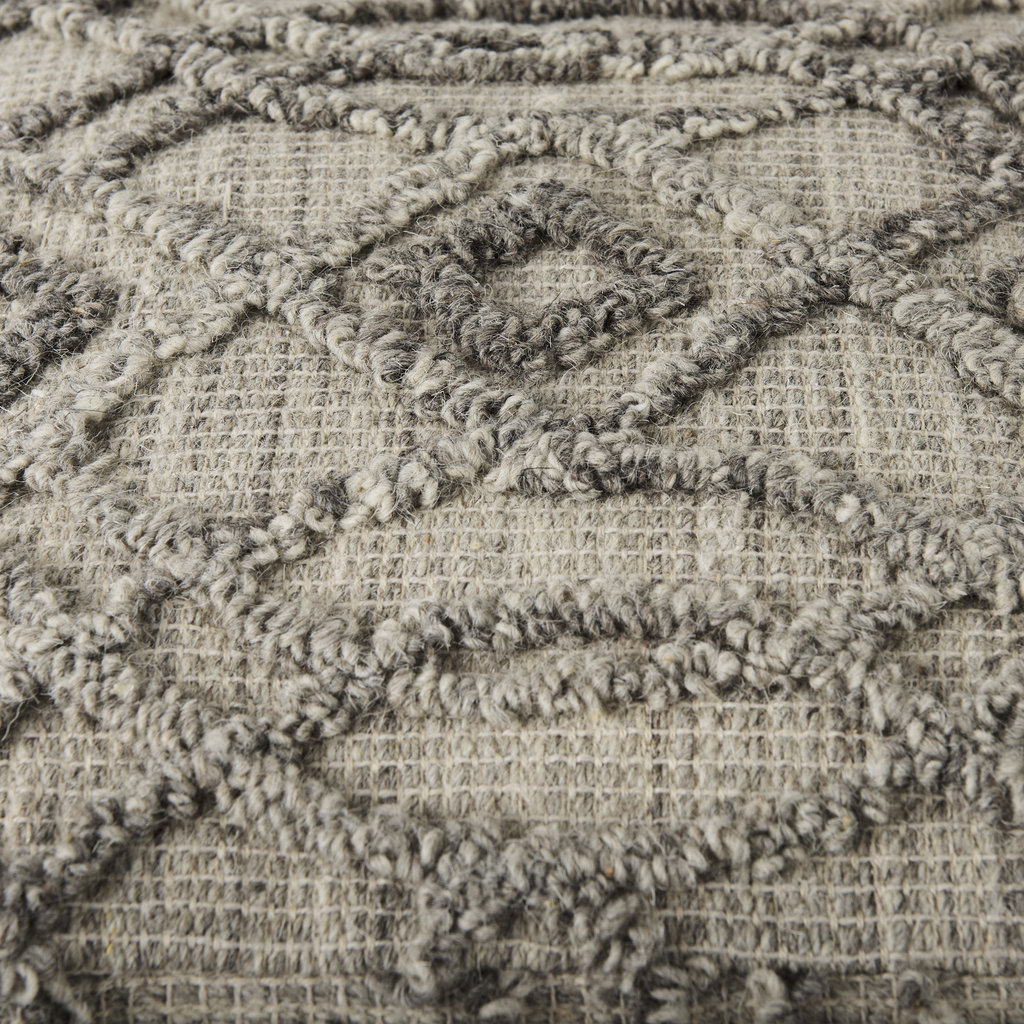 Dayita Cotton Patterned Pouf