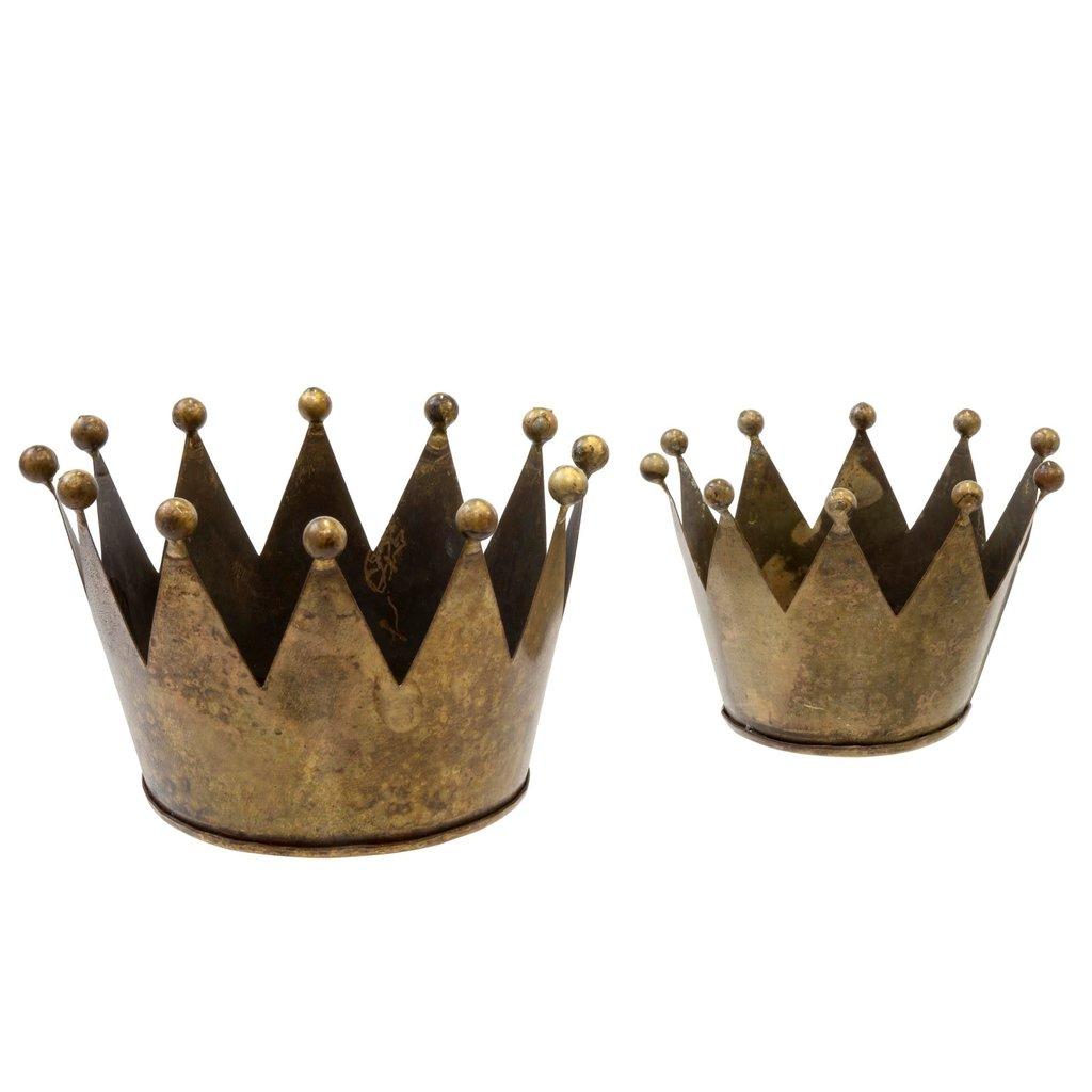 King's Crown Tealight Holder